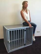 Hundebox M3TL L106cm Aluminium Top Qualität Hundekäfig, Hundetransportbox (Auto)