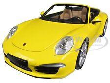 2012 PORSCHE 911 CARRERA S CABRIO (991) YELLOW 1/18 LTD ED MINICHAMPS 100061031