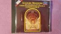 ALLEGRI - MISERERE (CHOIR WESTMINSTER CATHEDRAL STEPHEN CLEOBURY). CD ARGO