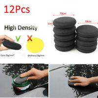 12pcs Car Microfiber Polishing Pad Wax Applicator Foam Sponge Cleaning Buffers