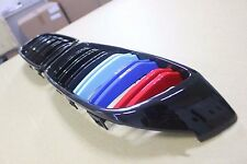 Front Kidney Glossy Black ///M Color Grille For BMW F32/F33/F36 4-Series 14-16