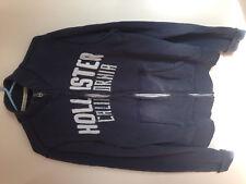 Hollister Men's Sweatjacket Zippered Jacket Large L Blue