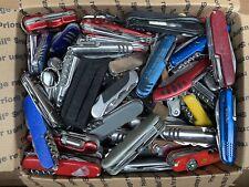 24 lbs Lot of TSA Knives Multi Tool Camping Knife Box #7