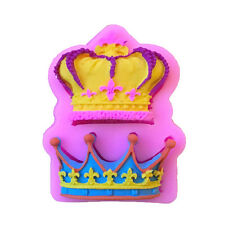 Crowns from Princess Queen 3D Silicone Mold Fondant Cake Cupcake Decorate ToolHL