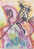 Salvador Dalí : Saint Georges - Litografía Numerada Y Firmada, 500ex