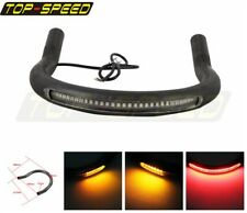 Cafe Racer 7/8'' Upswept Seat Frame Hoop Loop & LED Taillight For Suzuki GN125