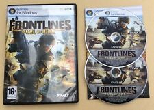 Jeu PC FRONTLINES Fuel OF War