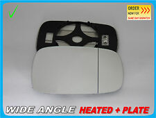 Wing Mirror Glass Renault Laguna II 2001-2008  Wide Angle HEAT Right Side /H015