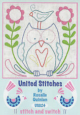 Rosalie Quinlan United Stitches US024 - Pre-printed Embroidery Linen