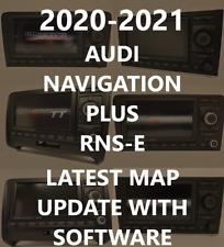 AUDI A3 A4 A6 TT R8 RNS-E RNS-E PU 2020-2021 LATEST MAP DVD1 8P0060884DJ