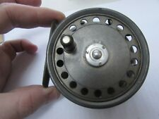 """vintage hardy st george 3 screw wide arbor trout fly fishing reel 3 + 3/8ths"""""""