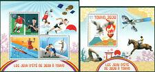 Olympic Games Sports Tokyo 2020 Japan Tennis Football Madagascar MNH stamp set