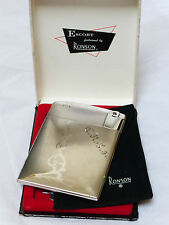 VINTAGE ESCORT RONSON CIGARETTE CASE AND LIGHTER