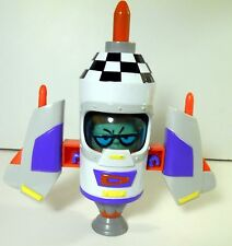 Dexter's Laboratory Rocket Ship Cartoon Network Action Figure playset  2000