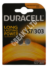 Genuine Duracell 357 SR44W Silver Oxide Watch Battery 1.55v [2-Pack]