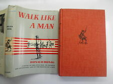 Walk Like a Man, Donald Honig, Civil War, DJ, 1964