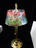 """Vintage  Novelty  Perfume """"Hi-Lights""""  Mini  Perfume Bottles Lamp  - ADORABLE"""