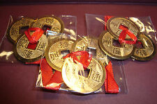 Chinese,Feng Shui,Metal Lucky Coins~I-Ching~3 sets of 3 large 25mm~uk seller~