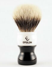 EPLISON 2-Band Silvertip Badger Hair Large Shaving Brush XL 26mm Made IN Spain
