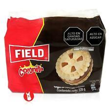 Field Coronita Cookies Filled with Chocolate Cream | Galletas Coronita Peru
