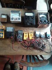 Vintage Test Meter Collection