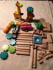 ALEX JUNGLE MARBLE MAZE 33pcs Kids Educational Wooden Block