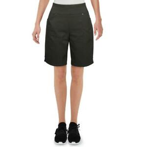 INC Womens Mid-Rise Casual Slimming Bermuda, Walking Shorts BHFO 7159