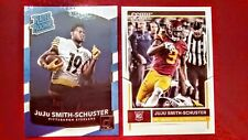 juju smith schuster 2017 panini  rookie/draft card combo set