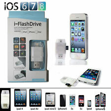 FlashDrive USB Micro SD TF Card Reader Flash Drive For iPhone 8 7 6S Plus 5S SE