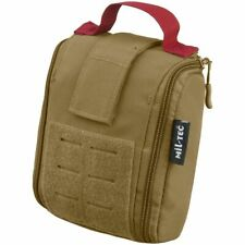Mil-Tec IFAK Pouch 25-Pieces Laser Cut Army Outdoor First Aid Kit Dark Coyote