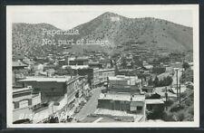 Sharp AZ Bisbee RPPC 1940's STREET SCENE & Town View Near mint