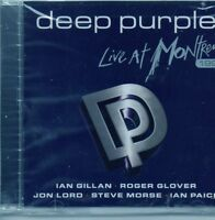 DEEP PURPLE. LIVE AT MONTREUX 1996. BRAND NEW AND FACTORY SEALED CD ALBUM