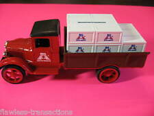 Ertl Die Cast Metal 1:34 Scale Big A Auto Parts 1931 Hawkeye Crate Coin Bank Toy