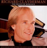 RICHARD CLAYDERMAN The Prince Of Romance 2CD BRAND NEW Greatest Love Songs
