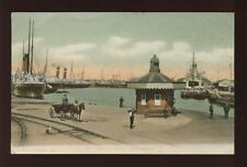 Hampshire Hants SOUTHAMPTON Empress Dock Ships Used 1907 PPC by F G O Stuart