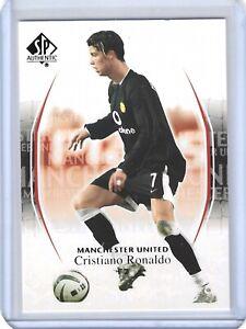 2004 SP Authentic Cristiano Ronaldo Black Jersey