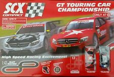 SCX 1:43 Slot Car Set AMG Mercedes race NEW IN BOX (NIB) + BONUS TRACK