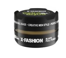 12 x X-Fashion Extra Aqua Hair Wax Black Full Force 150ml - Also Sell Red One