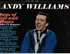 Andy Williams: THE DAYS OF WINE & ROSES + others (songs from his TV Show MONO LP