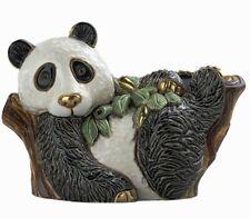 More details for de rosa - panda on tree - f166 - size 10 x 12cm
