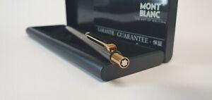 Mont Blanc Kugelschreiber Montblanc anthrazit/goldfarben, BASF, ungebraucht.