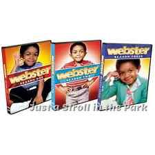 Webster TV Series Complete Seasons 1 2 3 Emmanuel Lewis Box / DVD Set(s) NEW