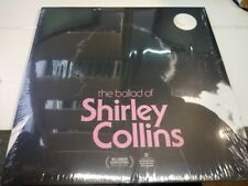 LP 33 The Ballad Of Shirley Collins Earth EARTHLP029 UK 2018 BLACK VINYL SMINT
