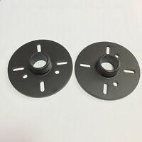 2 Pcs Aluminium Tweeter Treble Horn Converter Adapter 34mm Standard Thread