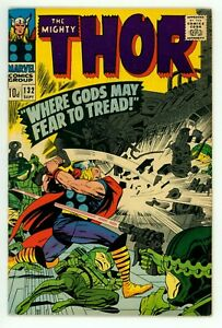 THOR #132 FN/VF 7.0 1ST EGO THE LIVING PLANET UK EDITION COMIC STAR 1966