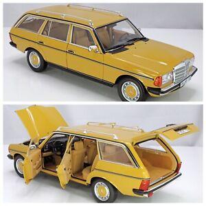 1/18 Norev Mercedes Benz 200T 1982 Yellow Neuf Livraison Domicile Fin Juillet