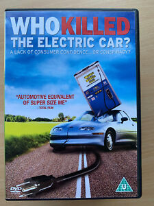 Who Killed The Electric Car? DVD 2006 Environmental Conspiracy Documentary Movie