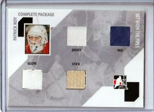 2005-06 Between the Pipes Complete Package #CP2 Patrick Roy SILVER /10