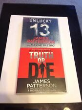 Truth Or Die & Unlucky 13 Audiobooks On CD - James Patterson