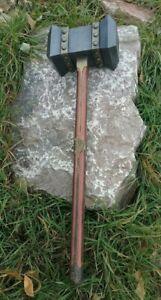 Hand made Viking war hammer